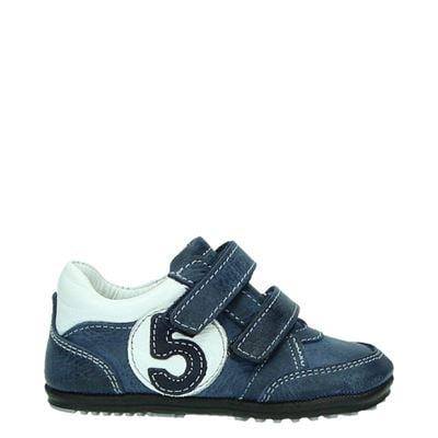 Jochie jongens klittenbandschoenen blauw