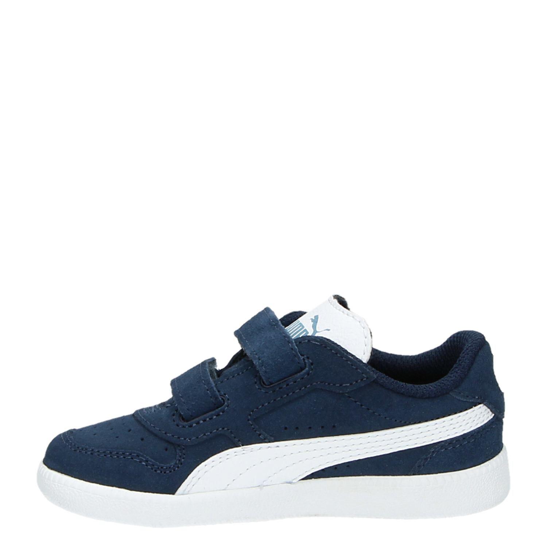 Puma Chaussures Bleu Avec Fermeture Velcro Pour Les Femmes TRQTsuMnyv