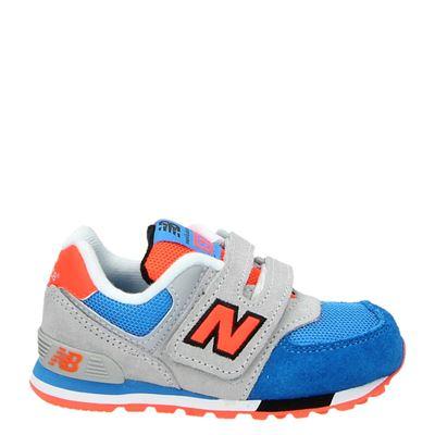 New Balance jongens klittenbandschoenen multi