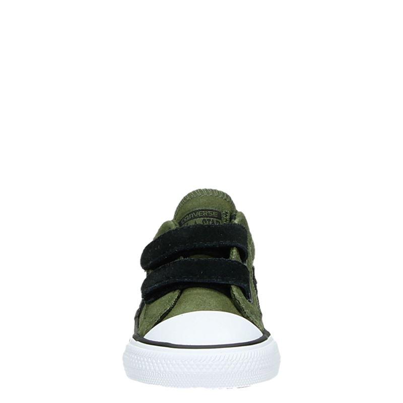 Converse Star Player 2V - Klittenbandschoenen - Groen