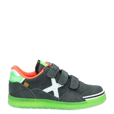 Munich jongens sneakers grijs