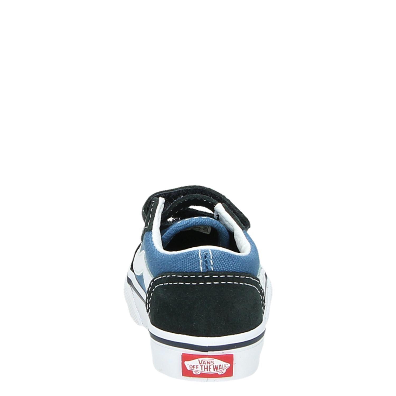 e1fb9b45b84818 Vans TD Old Skool jongens lage sneakers blauw