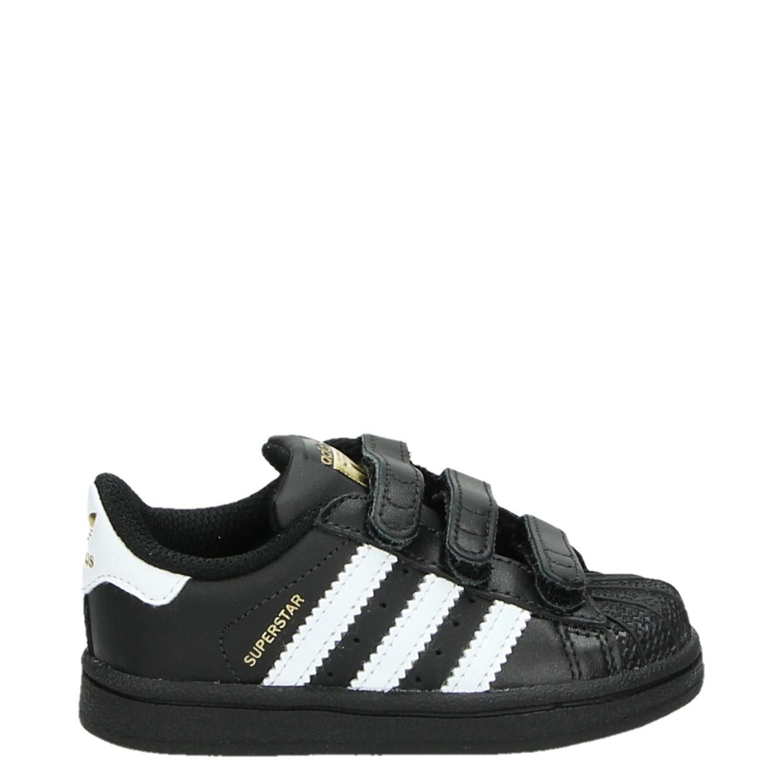 f6df447b582 Adidas Superstar jongens sneakers zwart