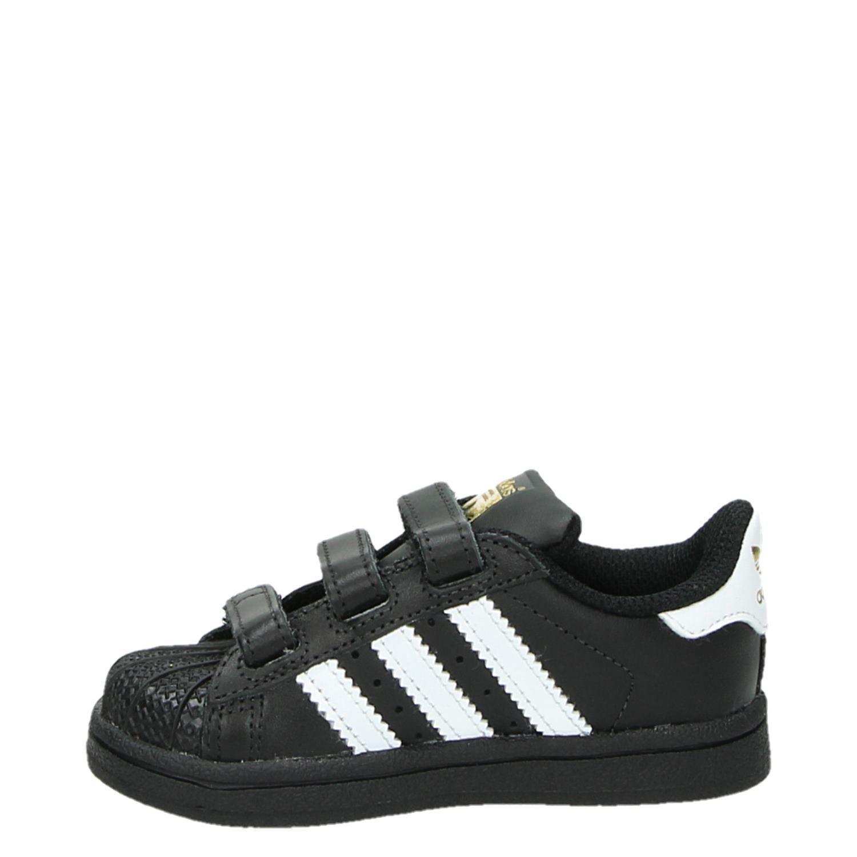 Adidas Superstar jongens sneakers zwart