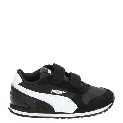 Puma jongens sneakers zwart