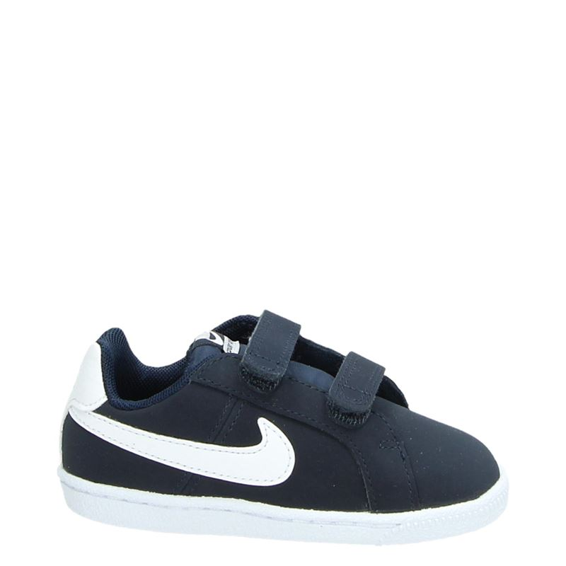 Nike Court Royale klittenbandschoenen blauw