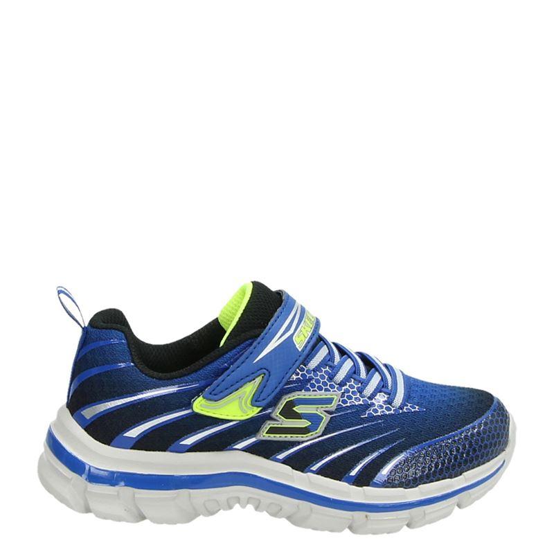 Skechers - Klittenbandschoenen - Blauw
