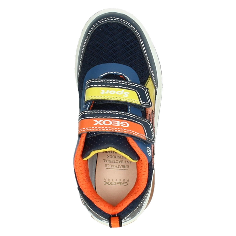 Geox J Inek Boy jongens lage sneakers blauw