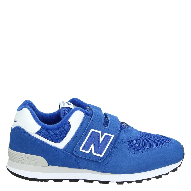 77ac9e4ea59 New Balance IV574 jongens lage sneakers blauw