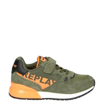Replay jongens sneakers kaki