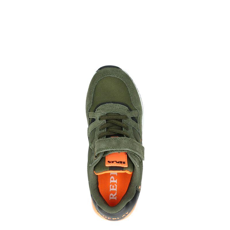 Replay Katai - Klittenbandschoenen - Groen