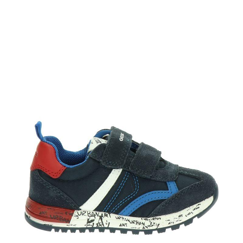 Geox Alben - Klittenbandschoenen - Blauw