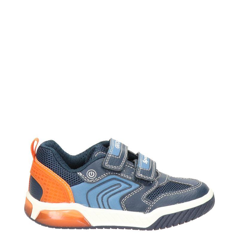 Geox Inek Boy - Lage sneakers - Blauw