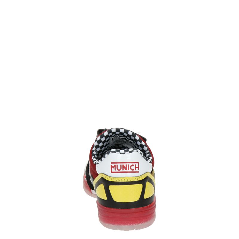 Munich - Lage sneakers - Rood