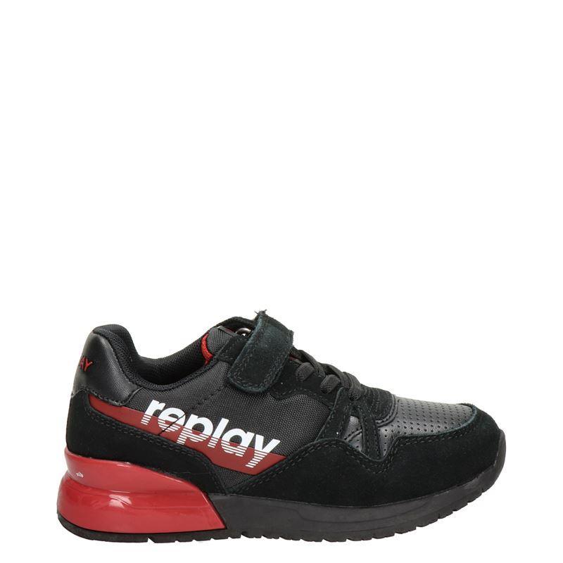 Replay Swat - Lage sneakers - Zwart