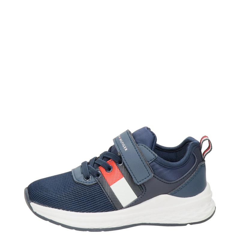Tommy Hilfiger - Klittenbandschoenen - Blauw