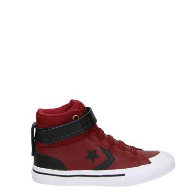 Converse jongens sneakers rood
