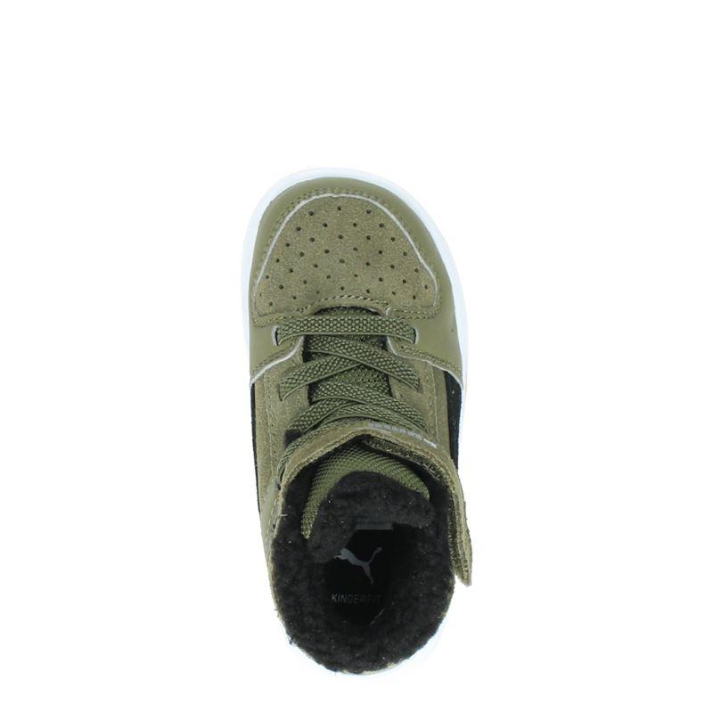 Puma Rebound Layup - Klittenbandschoenen - Kaki