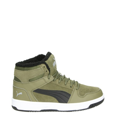 Puma Rebound Lay Up SD Fur - Hoge sneakers