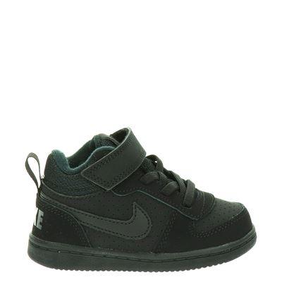 Nike jongens klittenbandschoenen zwart