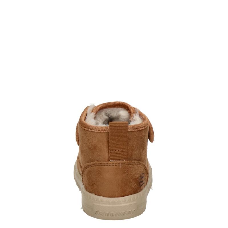 Skechers Lil Lad - Klittenbandschoenen - Cognac