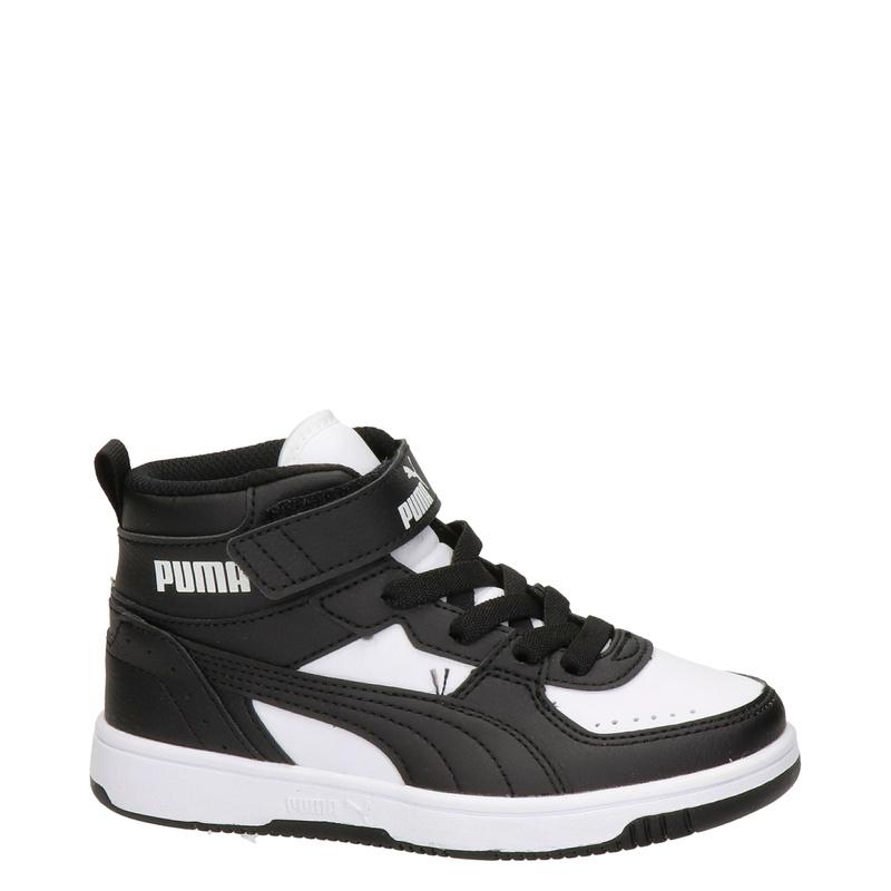 Puma Rebound Joy - Hoge sneakers - Zwart