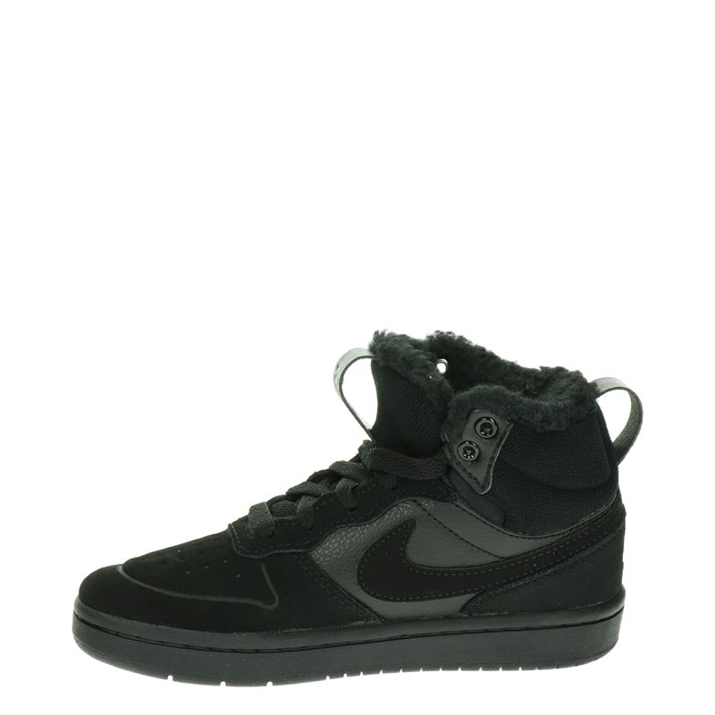 Nike Court Borough Mid - Hoge sneakers - Zwart