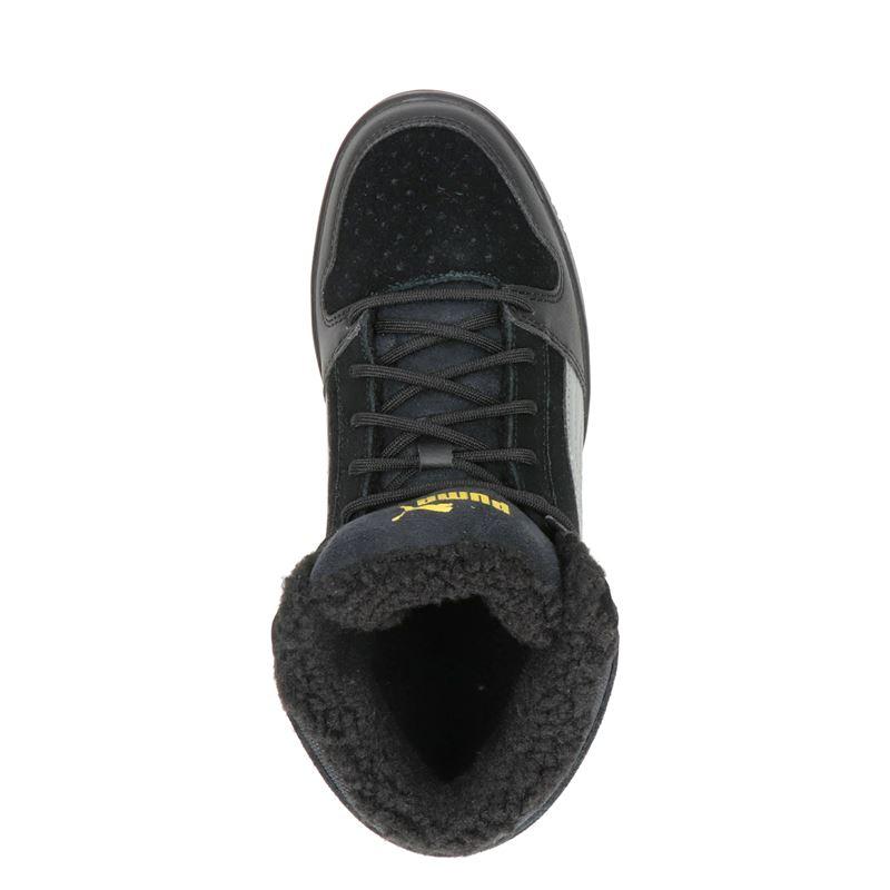 Puma Rebound - Hoge sneakers - Zwart