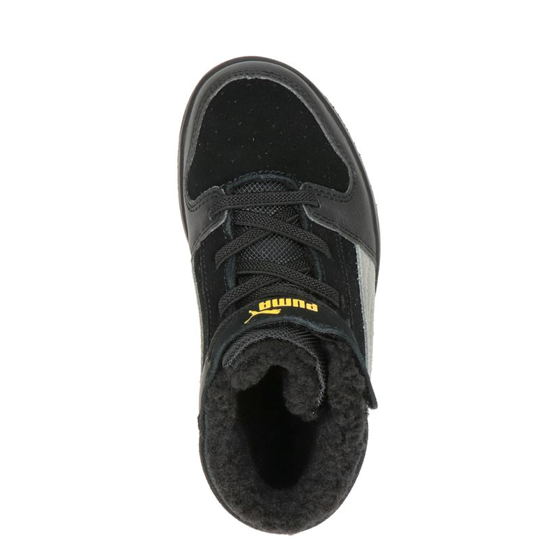 Puma Rebound Layup - Hoge sneakers - Zwart