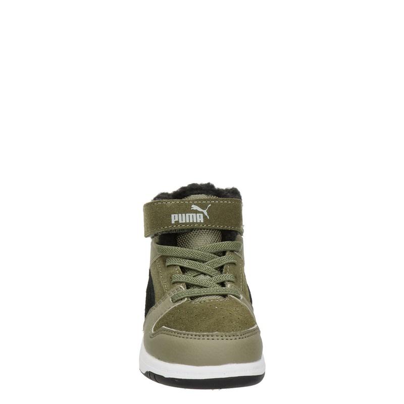 Puma Rebound Layup - Hoge sneakers - Groen