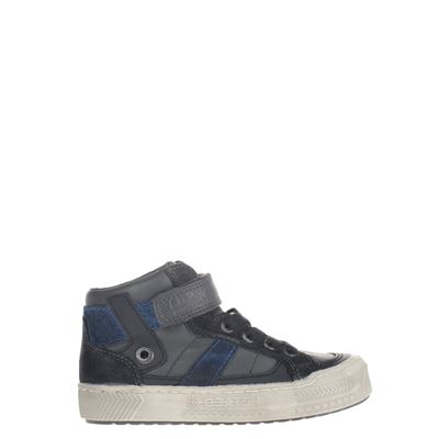 Little David jongens hoge sneakers grijs