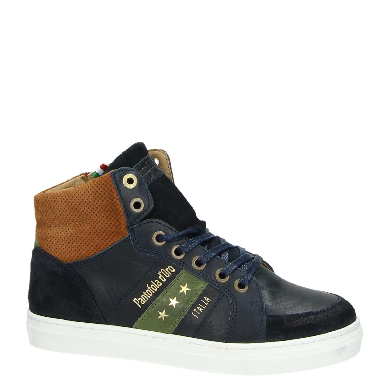 Pantofola d'Oro kindersneaker blauw