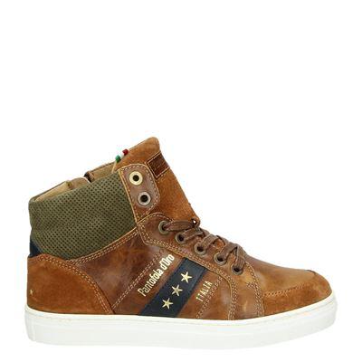 Pantofola d'Oro jongens sneakers cognac