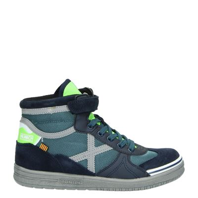 Munich jongens sneakers blauw