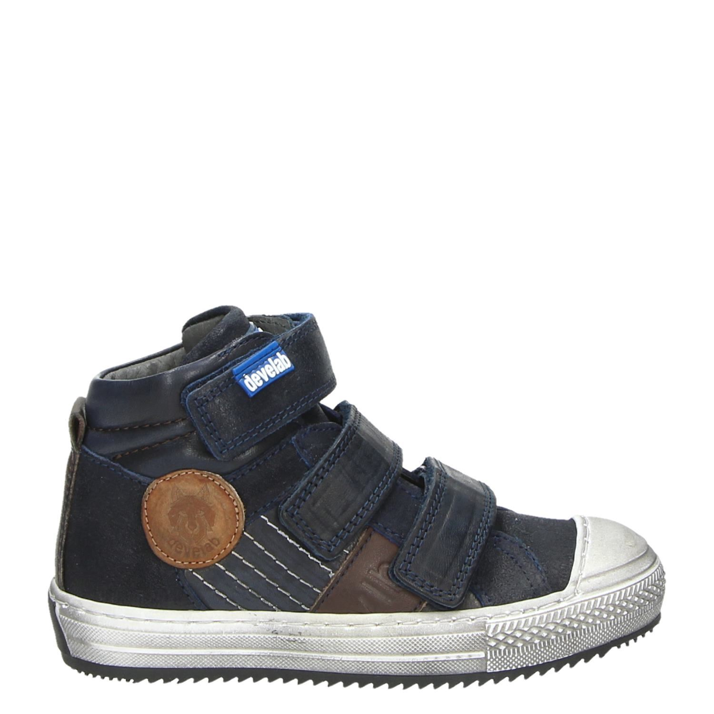09dbb2ff890 Develab jongens klittenbandschoenen blauw