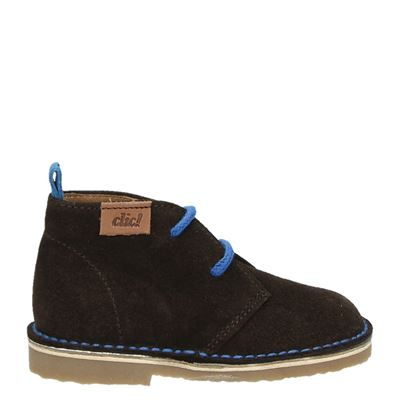 Clic! jongens laarsjes & boots bruin