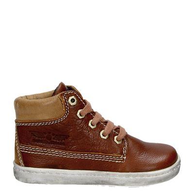 Shoesme jongens laarsjes & boots cognac