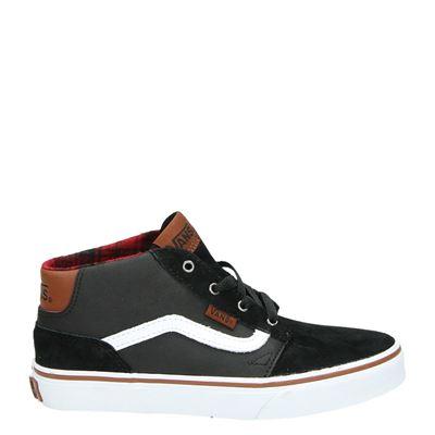 Vans jongens hoge sneakers zwart