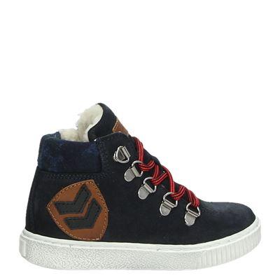 Pinocchio jongens laarsjes & boots blauw