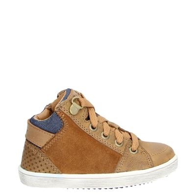 Orange Babies jongens sneakers cognac