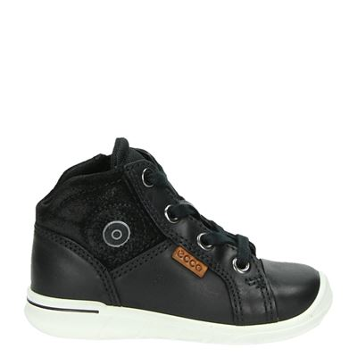 Ecco jongens sneakers zwart