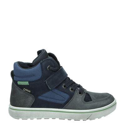 Ecco jongens sneakers blauw