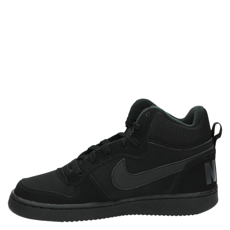 newest 1f4fb 1941d Nike Court Borough jongens hoge sneakers