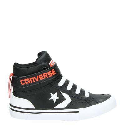 Converse jongens sneakers zwart
