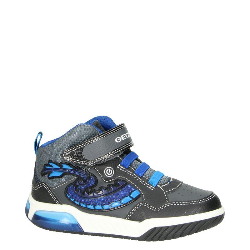Geox Inek - Hoge sneakers - Zwart