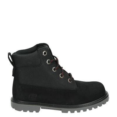 Skechers jongens laarsjes & boots zwart