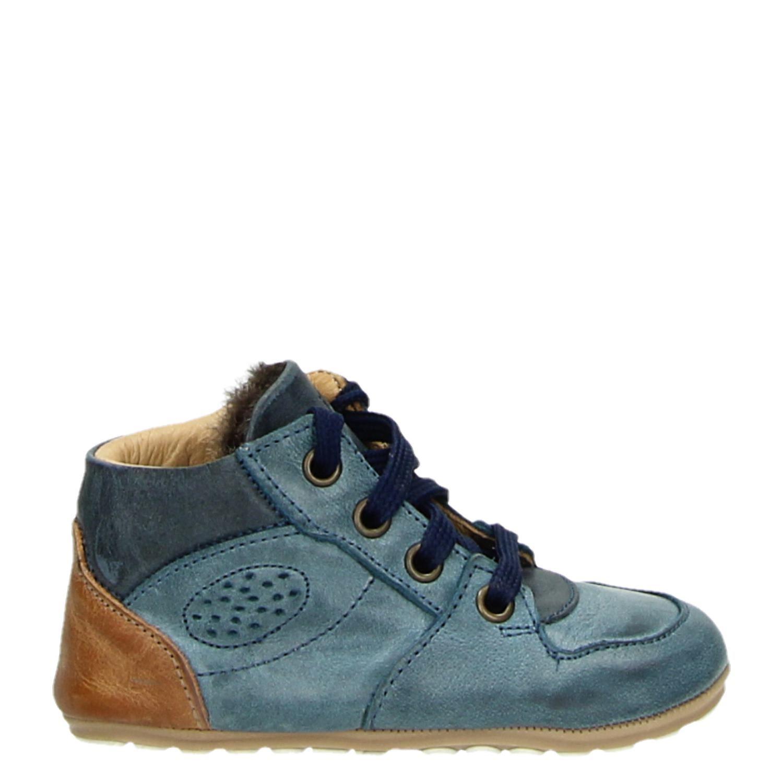 77bfdfca3ac Jochie&Freaks jongens babyschoenen blauw