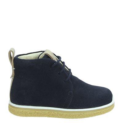 Ecco jongens boots blauw