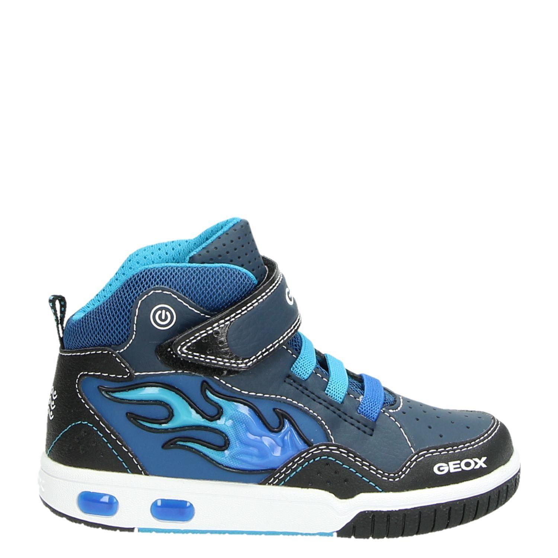 002b95603d5 Geox Gregg jongens hoge sneakers blauw