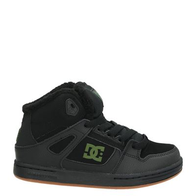 DC jongens laarsjes & boots zwart